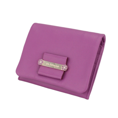 ダージリン ボックス二つ折り財布